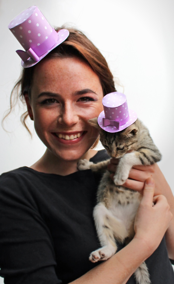 polka-fascinator-kitty-paper-hat