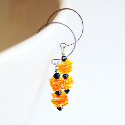 recycled-pill-bottle-earrings-stacked-3