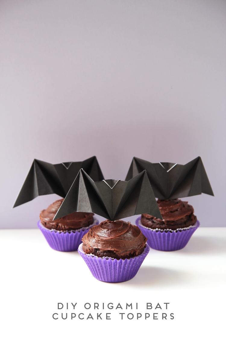 diy-origami-bat-cupcake-toppers