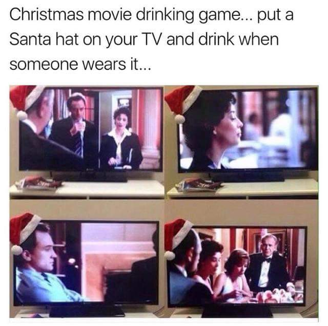 Adult Christmas Drinking Game Do It And How