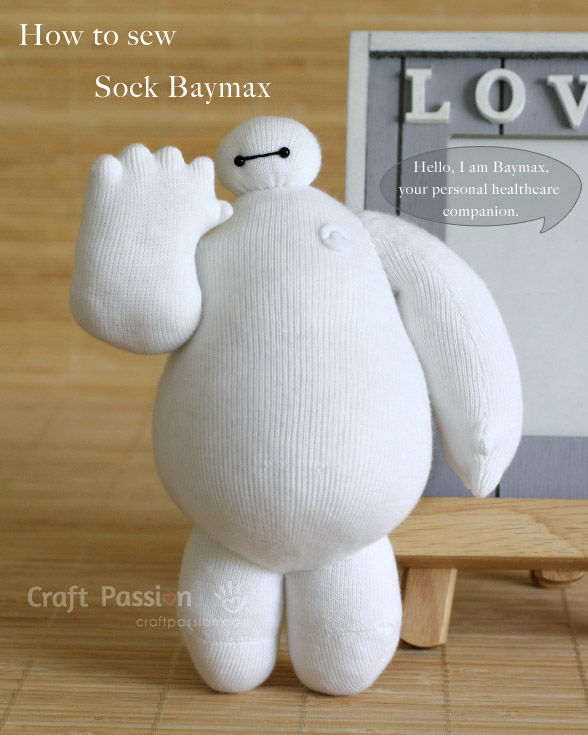 how-to-sew-sock-baymax