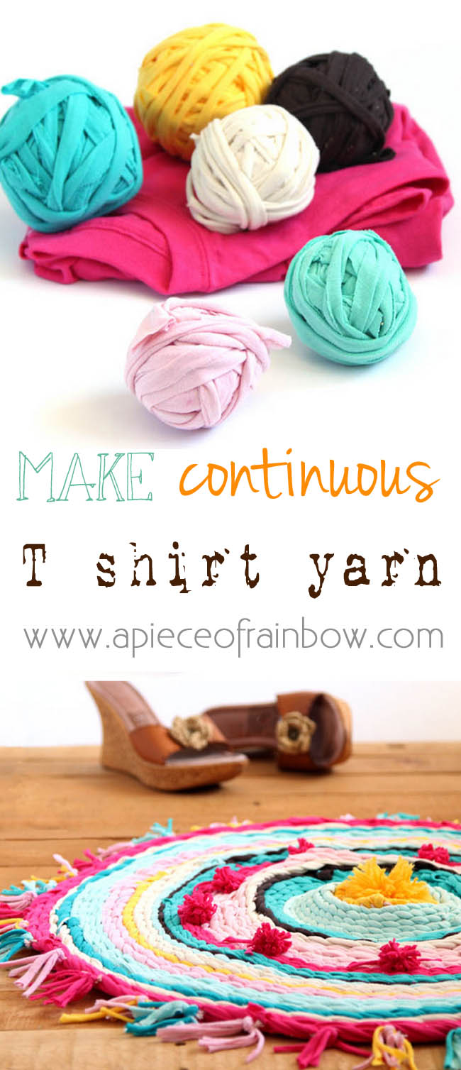 How to Make Continuous T-Shirt Yarn – Do It And How
