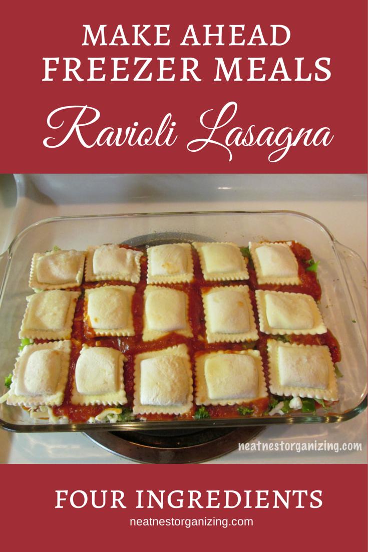 ravioli lasagna freezer meal do it and how