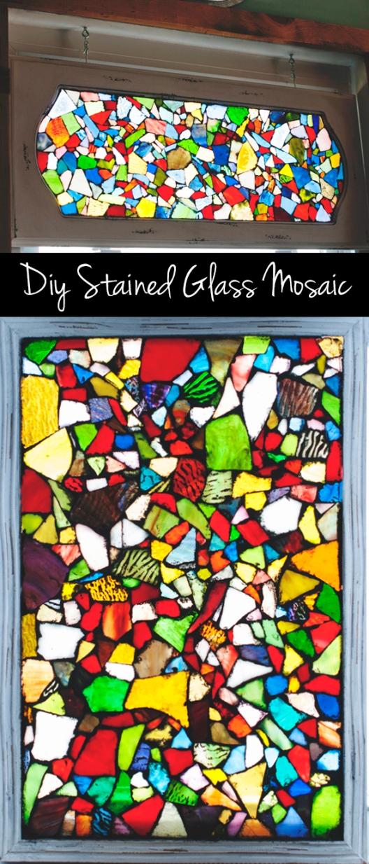 diystainedglassmosaic