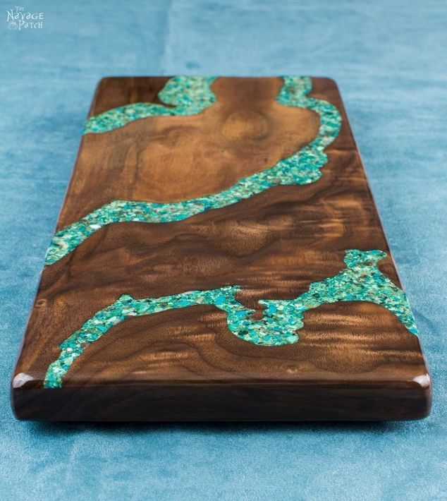 Turquoise Inlay Cheese Board Do It And How
