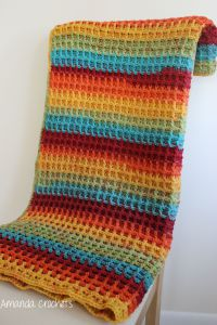 Waffle Stitch Blanket To Crochet Do It And How