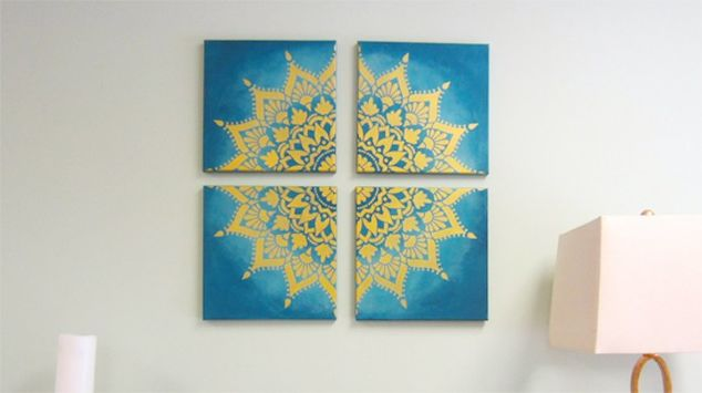 create-custom-canvas-artwork-in-an-hour-with-a-mandala-stencil