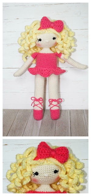 The Friendly Grace Doll Pattern