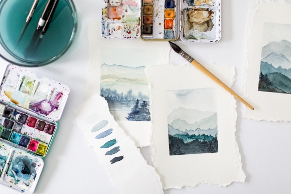 howtopaintwatercolormountains-7