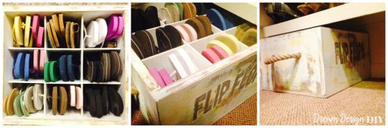 flip-flops-in-bin-under-shelf-collage