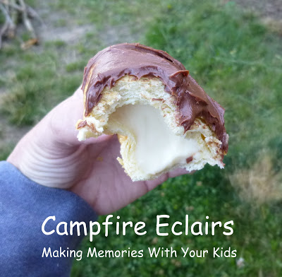 campfire eclairs 2