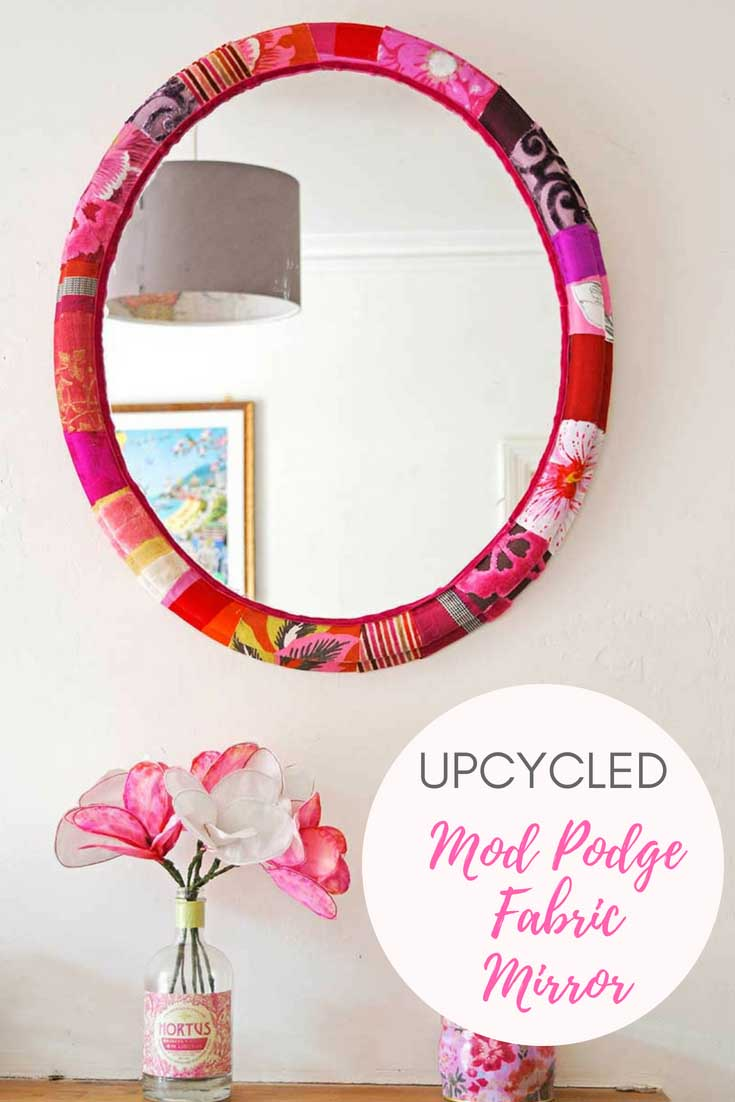 upcycled-mod-podge-fabric-mirror