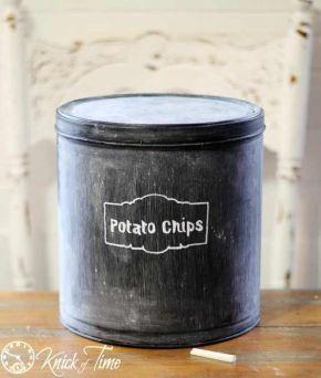 turn-those-christmas-tins-into-pantry-storage-chalk-paint-organizing-repurposing-upcycling