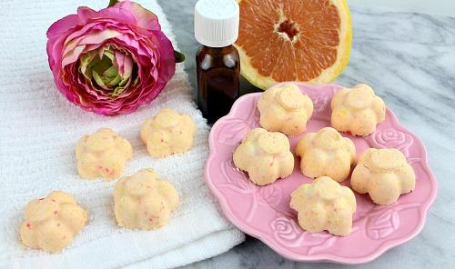 grapefruit-mint-diy-shower-steamers-finished