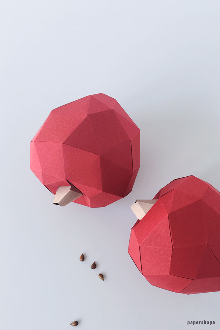 fall-crafts-paper-apple