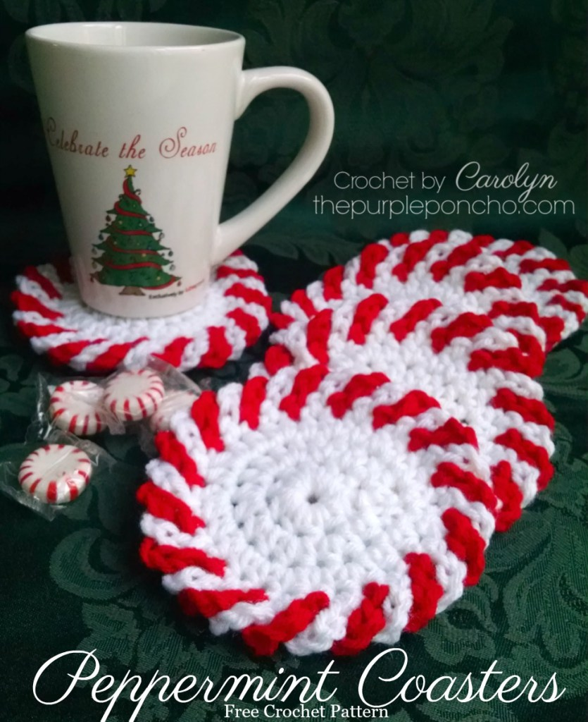 Peppermint-Christmas-Coasters-Free-Pattern-by-The-Purple-Poncho
