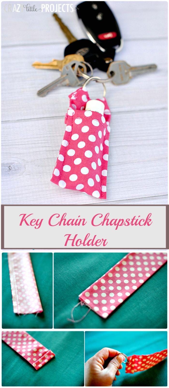 Key-Chain-Chapstick-Holder