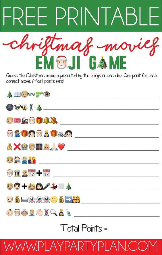 photograph relating to Christmas Carol Game Printable titled Emoji Xmas Carol Video game Do It And How