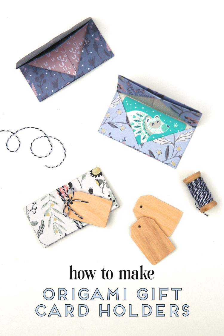 Learn+how+to+make+an+origami+gift+card+holder+and+wrap+up+those+gift+cards+quickly+and+easily+with+this+simple+origami+envelope