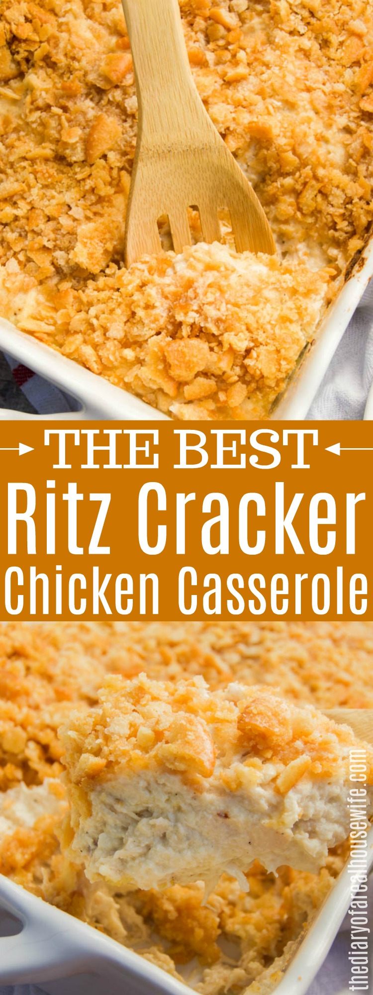 Ritz-Cracker-Chicken-Casserole