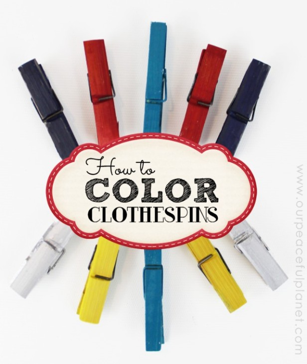 How-To-Color-Clothespins
