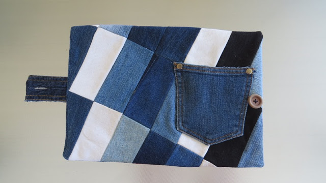 front patchwork cover