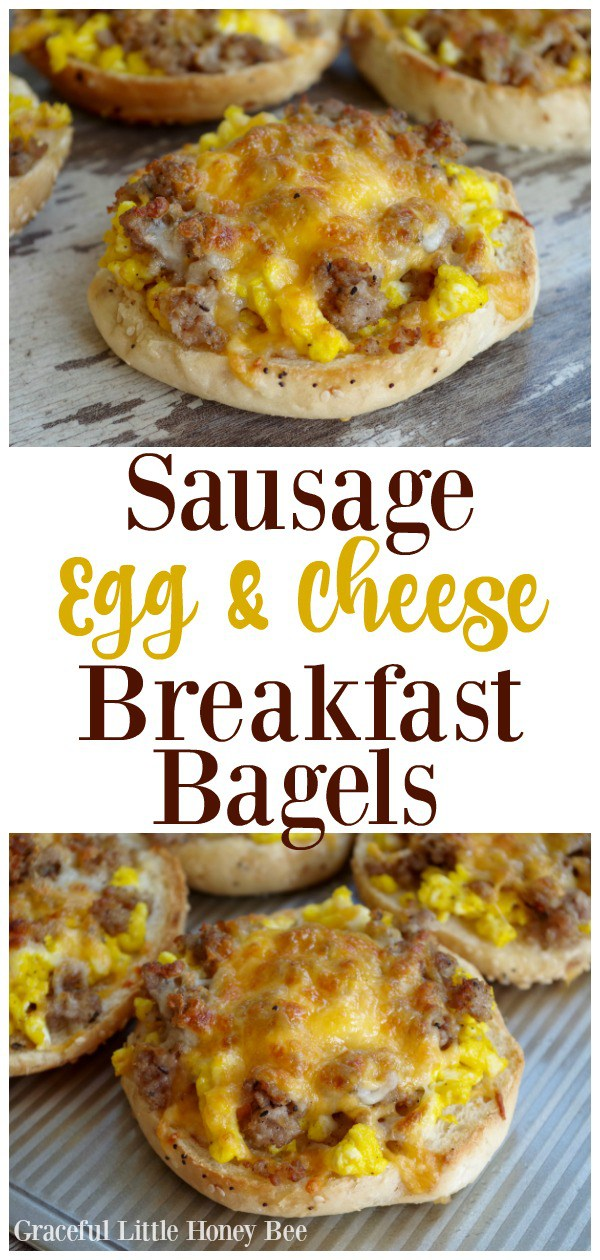 Sausage-Egg-Cheese-Breakfast-Bagels