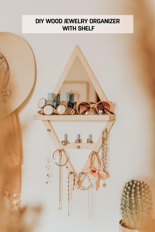 DIY-Wood-Jewelry-Organizer-With-Shelf-main