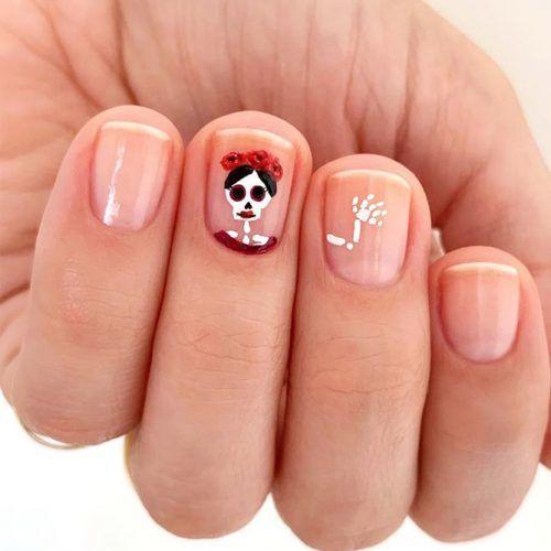 halloween-nail-designs-short-natural-sugar-skull-skeleton-500x500