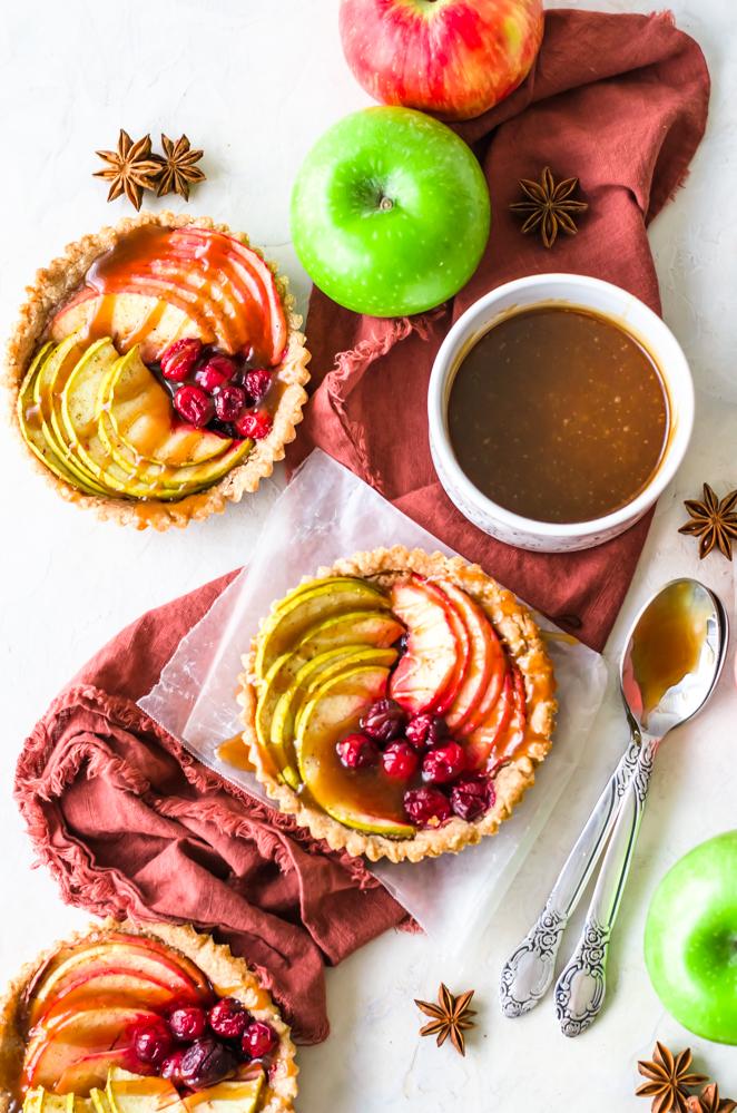 Vegan-Cranberry-Apple-Tarts-5