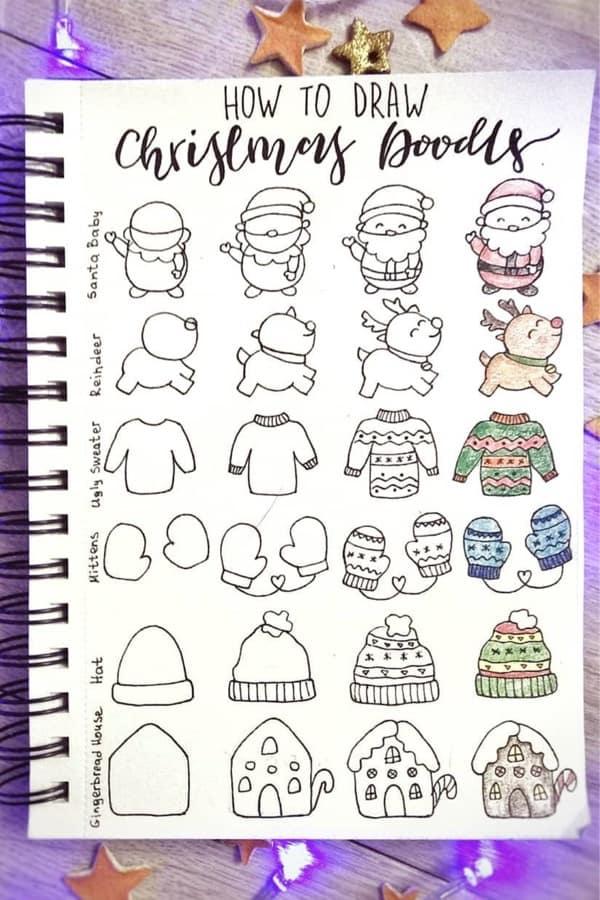 reindeer-bujo-doodles