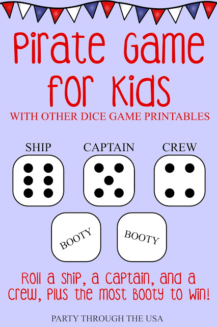 dice-games-for-kids-pirates
