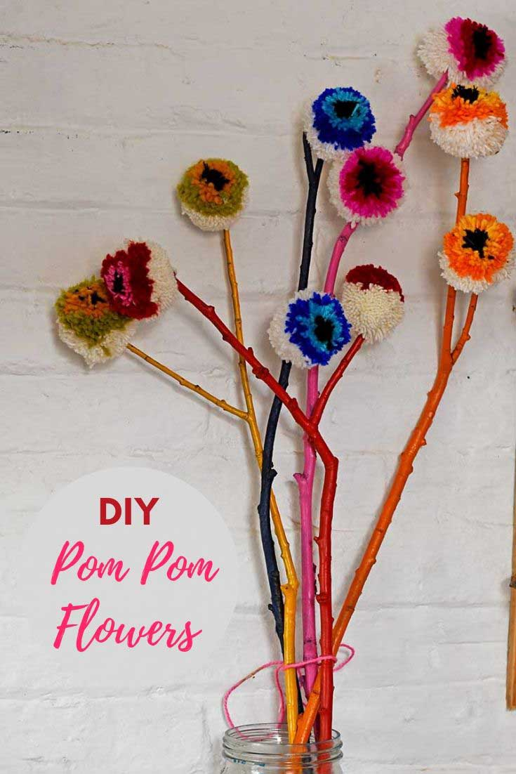 Rainbow-DIY-pom-pom-flowers-pin-3