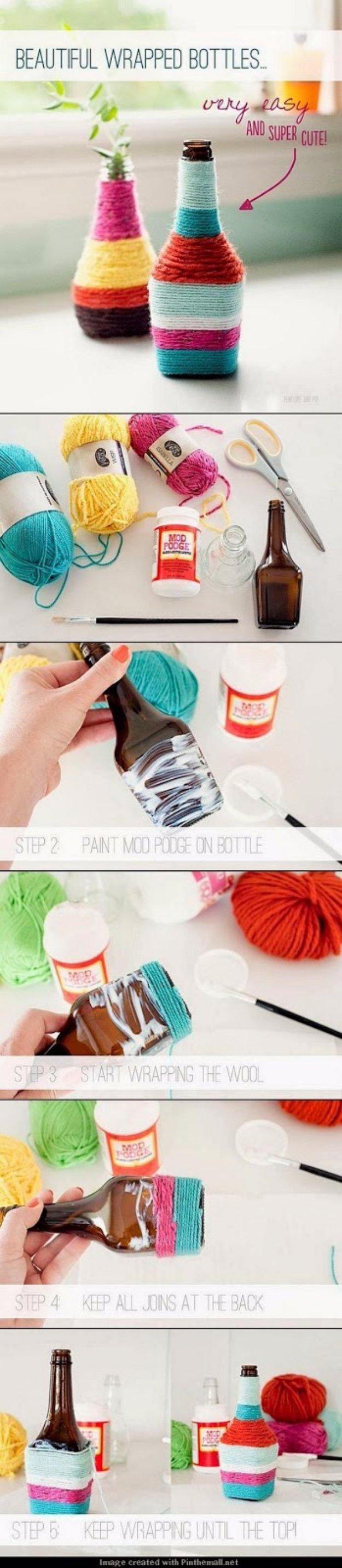 Beautiful-Wrapped-Bottles-DIY