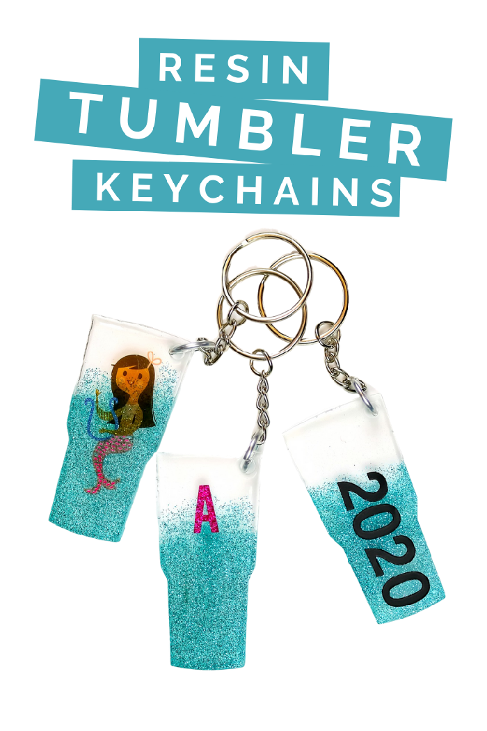 DIY-Resin-Tumbler-Keychains-Made-with-Left-Over-Resin