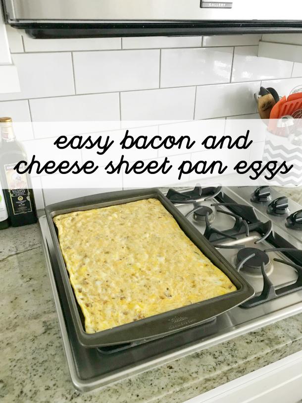 Easy Sheet Pan Eggs - thehouseofsmiths.com
