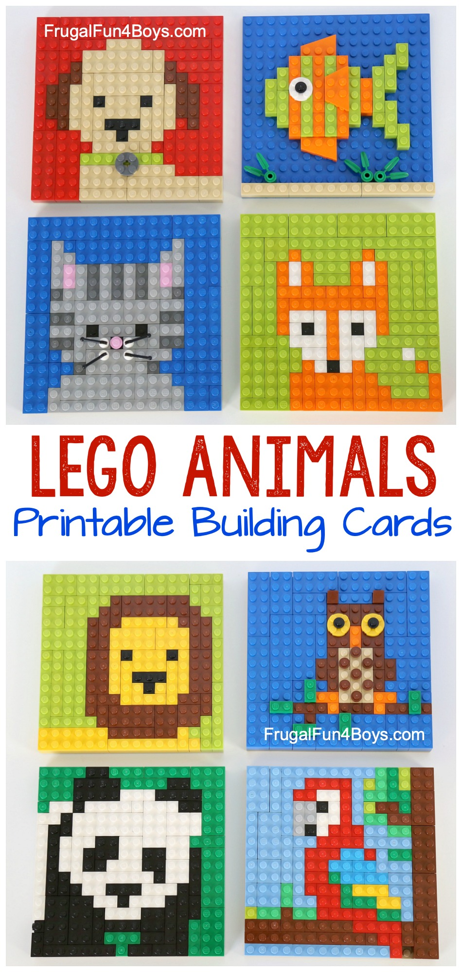Lego-Animal-Mosaics-Pin