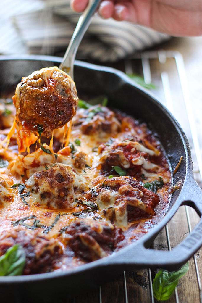 cheesy-meatball-skillet-3