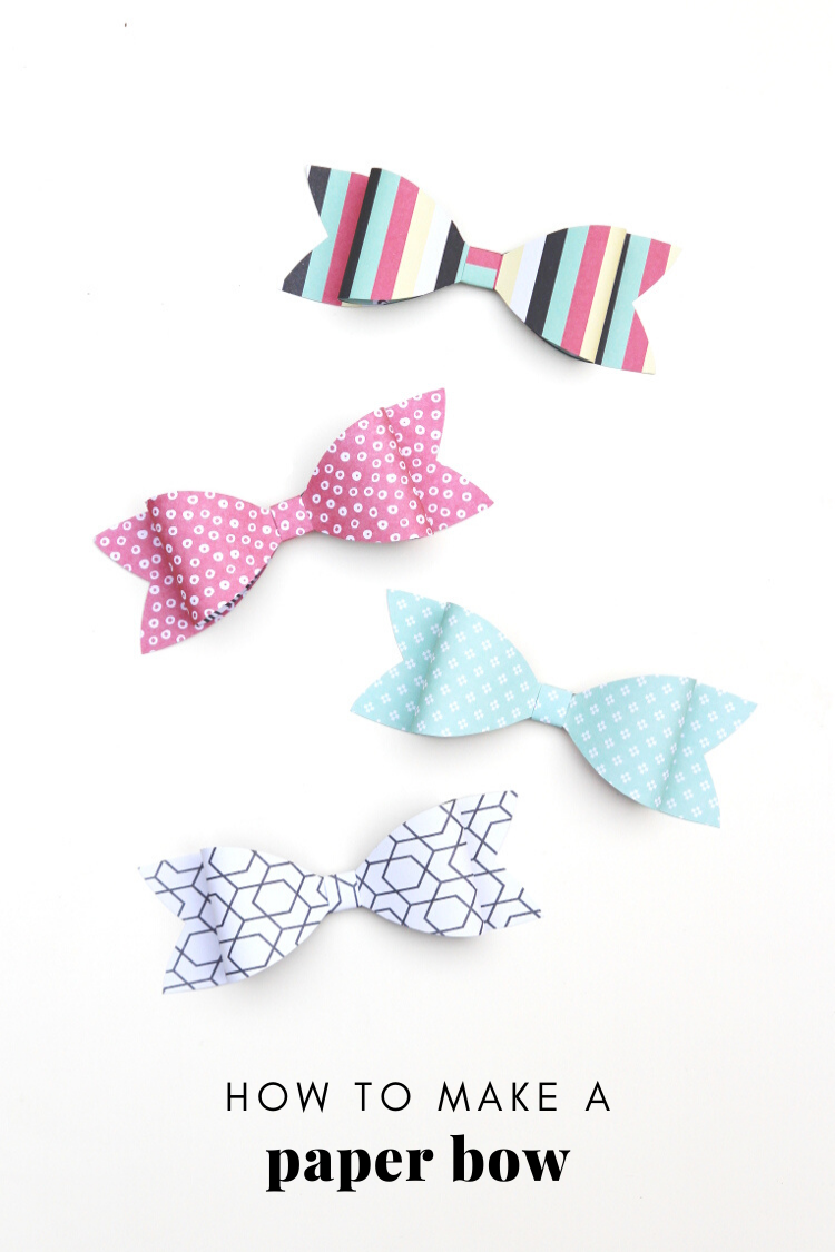 how+to+make+a+paper+bow