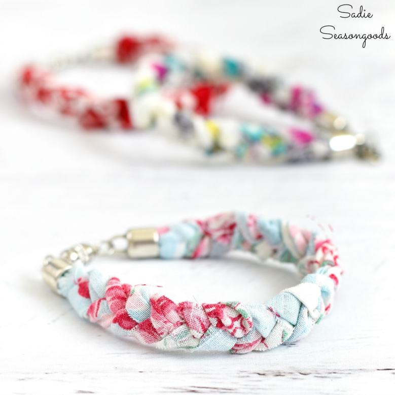 Boho-bracelets-that-are-vintage-chic-from-vintage-handkerchiefs